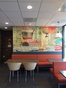 food quality mural